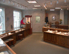 Interior of Laney's Diamonds & Jewelry